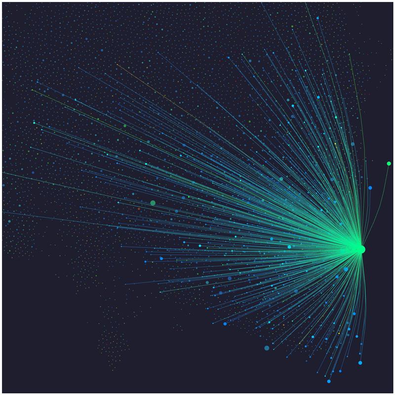 Image 3D moteur graphique affichage articles sciences