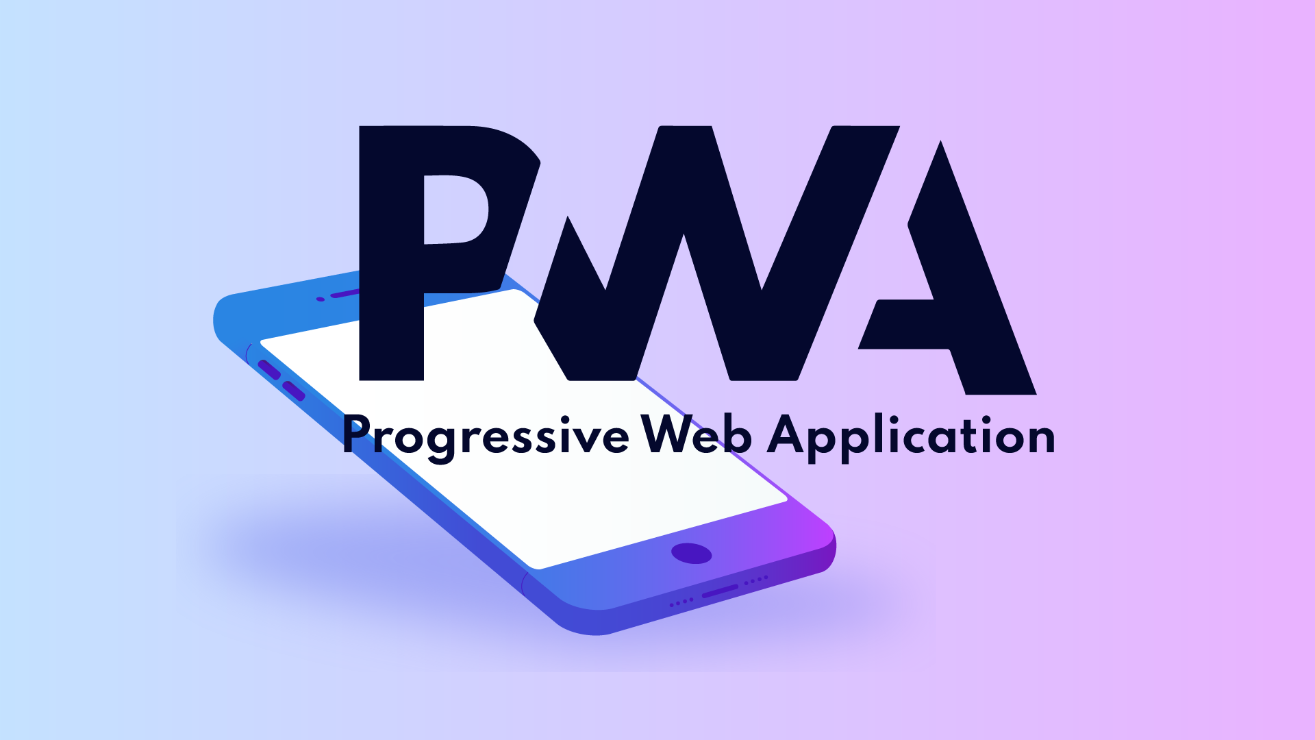 Couverture PWA Progressive Web Application