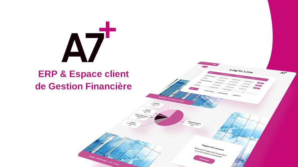 A7+ ERP & Espace client de gestion financière